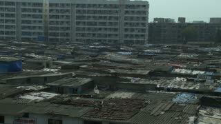 Dharavi Slum in Mumbai India