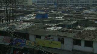 Dharavi Slum in Mumbai