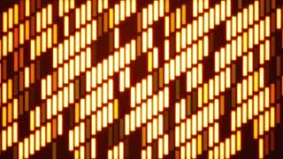 Diagonal Tile Glowing Grid Background Loop