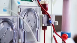 Dialysis medical device with patient