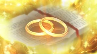 Diamond ring in the Bibles