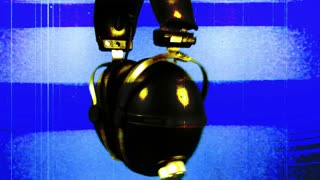 Digital Glitch Headphones