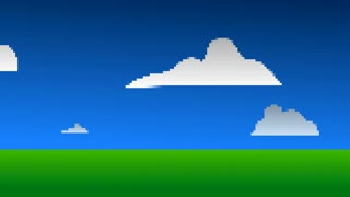 Digital Pixel Landscape