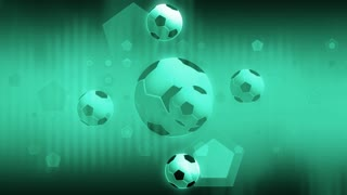 Digital Soccer And Shapes