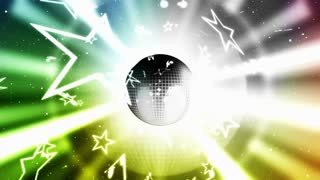 Disco Ball and Exploding Stars 2
