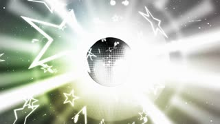 Disco Ball and Exploding Stars