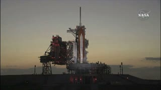 Discovery Mission Preparing to Launch
