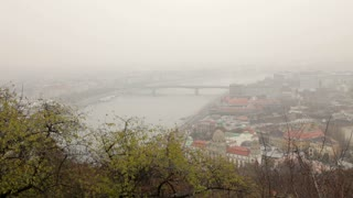 Distant View Of Budapest
