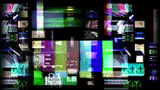Distortion Television Screens