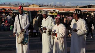 Djemaa el-Fna Square, Street Performers, Morocco, Marrakech, Africa
