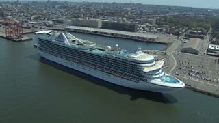 Docked Cruise Shipe