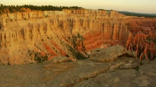 Dolly Shot Of Couple At Bryce Canyon National Park