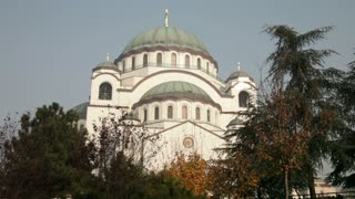 Domed Cathedral In Romania