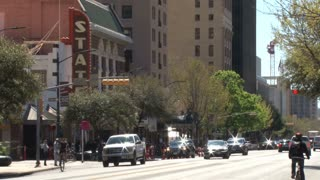Downtown Austin Street Traffic