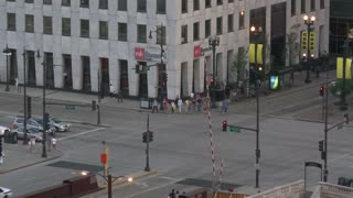 Downtown Chicago Intersection Timelapse