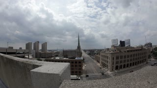 Downtown Detroit Buildings Time Lapse