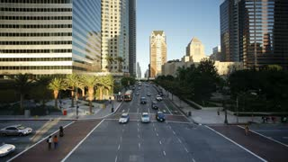 Downtown Financial Centre, Los Angeles, California, United States of America, T/lapse
