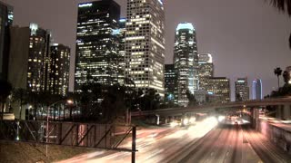 Downtown LA Highway Timelapse