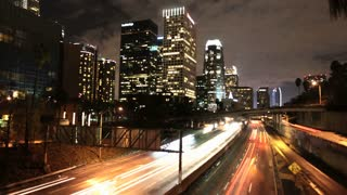 Downtown LA Traffic Timelapse