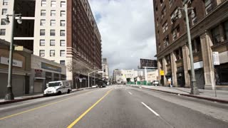 Downtown POV Driving