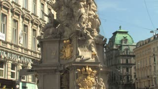 Downtown Vienna Statue 2