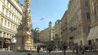 Downtown Vienna Statue