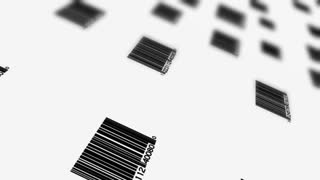 Downward Scrolling Barcodes