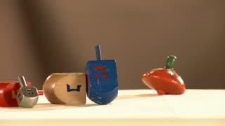 Dreidel jewish symbol, Hanukkah game