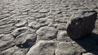 Dried Death Valley Ground
