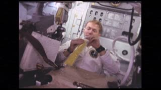 Drinking on Lunar Module