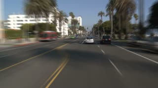 Driving In Santa Monica