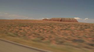 Driving Near Boulder Utah