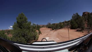 Driving through rough terrain 10