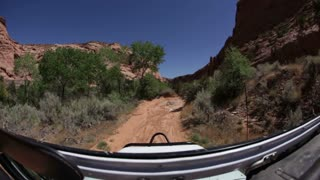 Driving through rough terrain 3