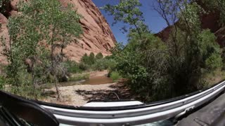 Driving through rough terrain 4