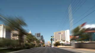 Driving Through Vegas Time Lapse