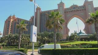 Dubai Atlantis Hotel Archway