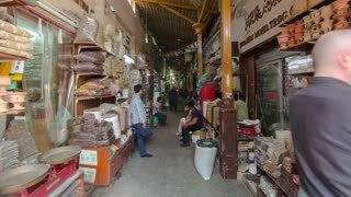 Dubai Spice Souk  or the Old Souk is a traditional market  in Dubai,  UAE timelapse hyperlapse