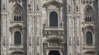 Duomo Milan Tilt Up Close