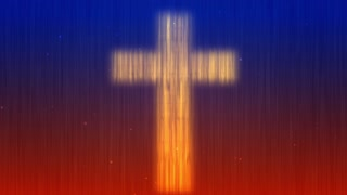Easter Cross Worship Motion Background