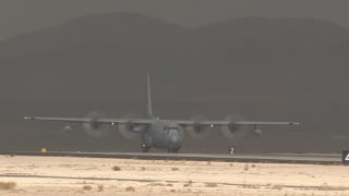 EC-130 Compass Call Hercules at Red Flag