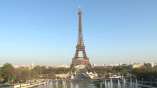 Eiffel Tower and View of Paris 2