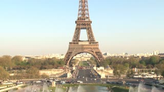 Eiffel Tower and View of Paris Tilt