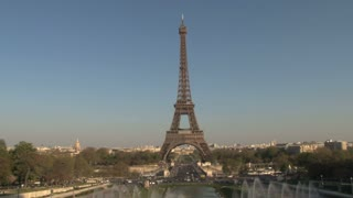 Eiffel Tower and View of Paris