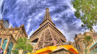 Eiffel Tower Up-panning