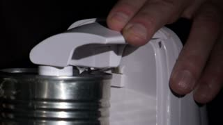 Electric Can Opener Opening a Can 2