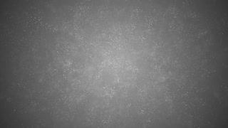 Floating grey particles on abstract black background