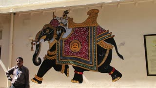 Elephant Painting in Udaipur 2