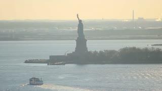Ellis Island Time lapse