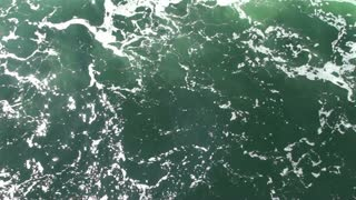 Emerald green water moving 1